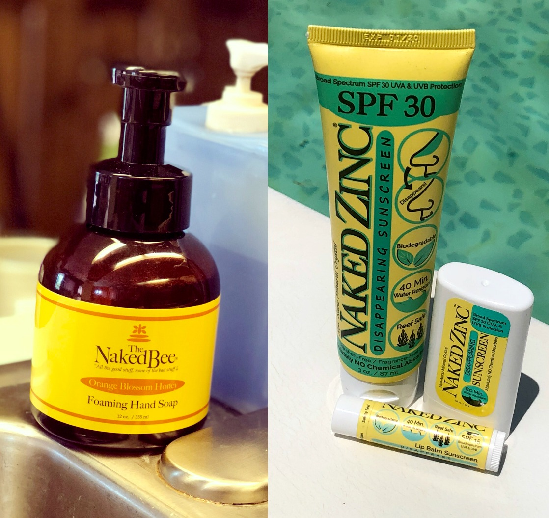 More From The Naked Bee: Foaming Hand Soap, Sun Care & Perfume!